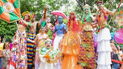 Grito de carnaval na Casa Firjan