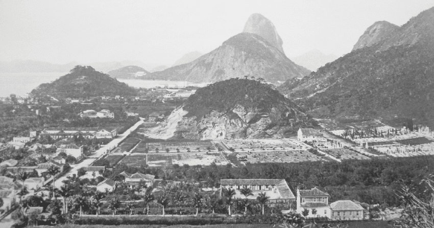 A rua mais antiga de Botafogo